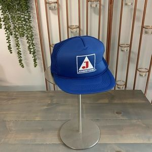 Vintage Ama Pro Johnstone Baseball Cap Trucker Hat